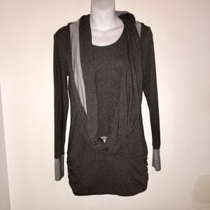 Lucy Top with Scarf, XS